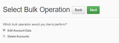 Select Bulk Operation