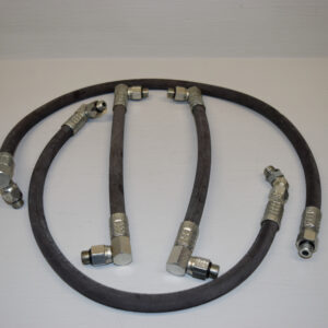 # 101420 / # 101421 Pump & # 101422 / # 101423 Cylinder Replacement Hydraulic Hoses (4) for GT 14 Wheel Horse