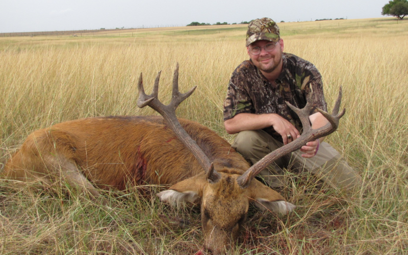 Barasingha Exotic Hunt in Texas