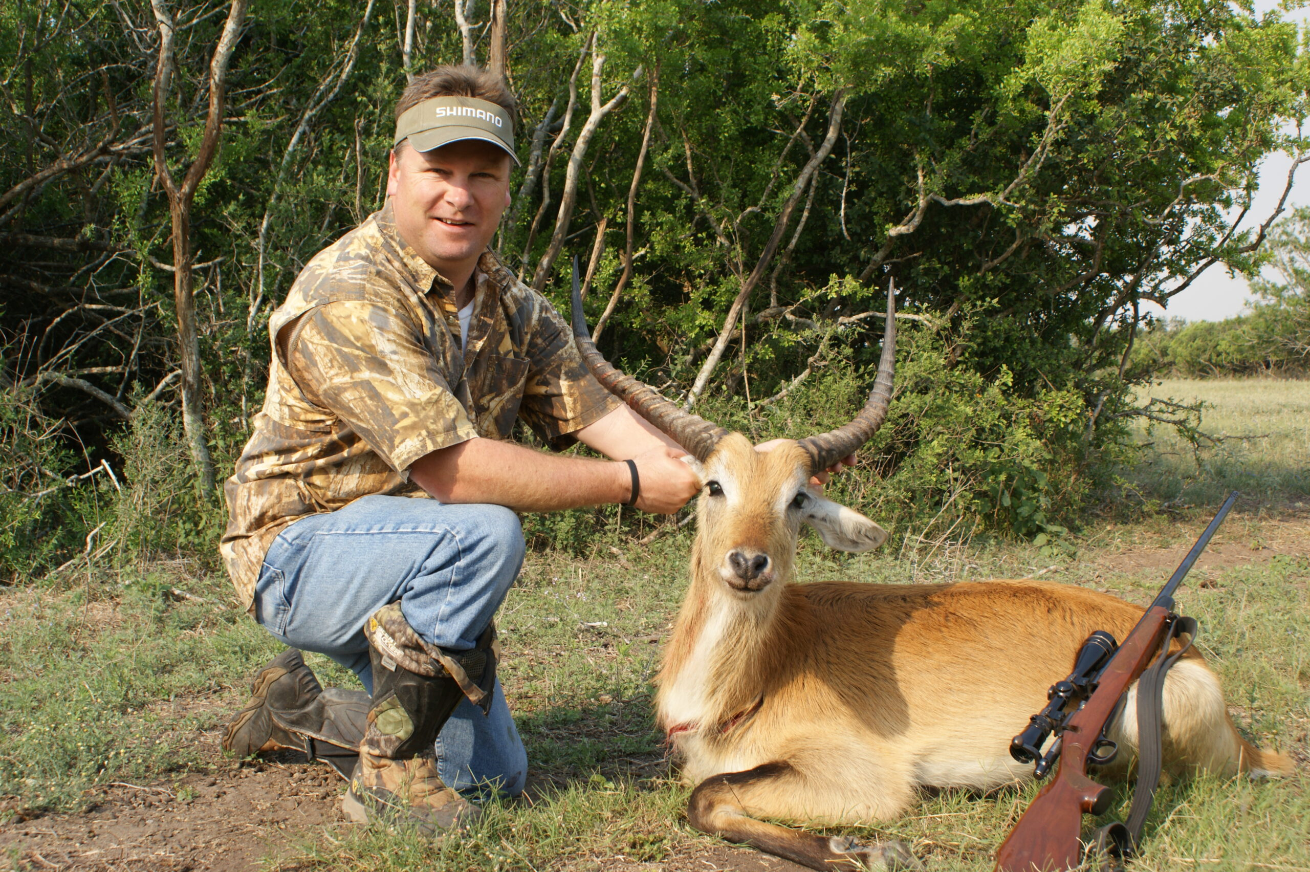 Red Lechwe Hunting in Texas