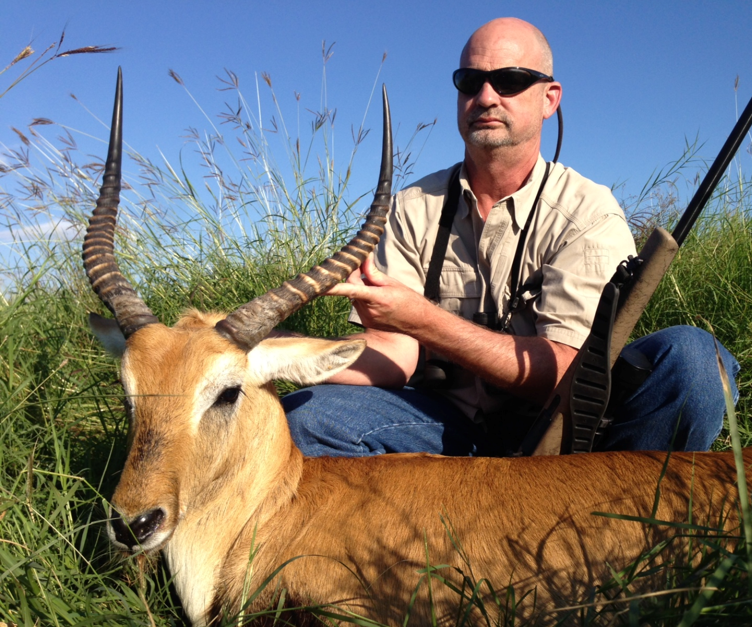 Trophy Red Lechwe Hunting