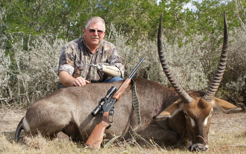 Waterbuck Exotic Hunt in Texas