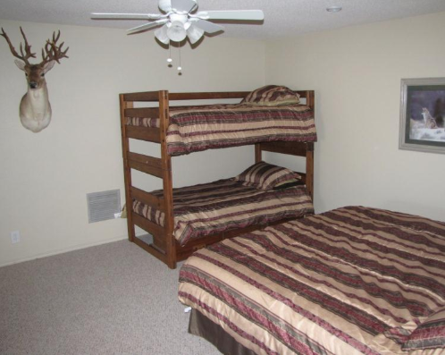 Main Hunting Lodge Bedroom 2