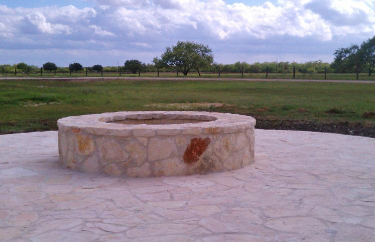 Main Hunting Lodge Fire Pit