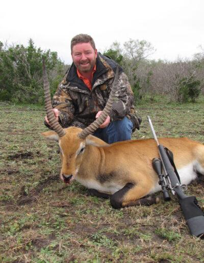 Red Lechwe Hunt TX