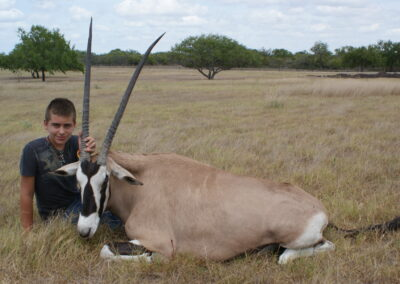 TX Gemsbok Hunt