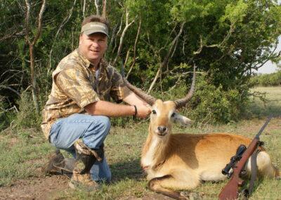 Texas Red Lechwe Hunt