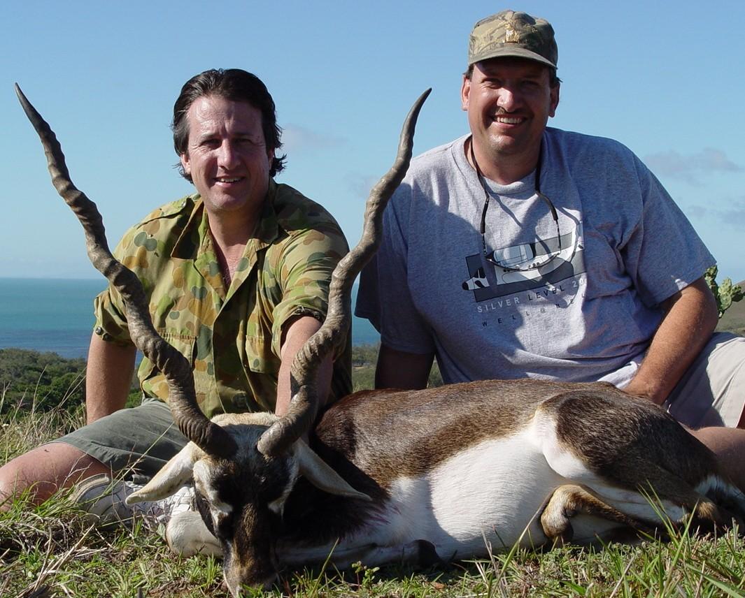 Black Buck Hunting in Texas