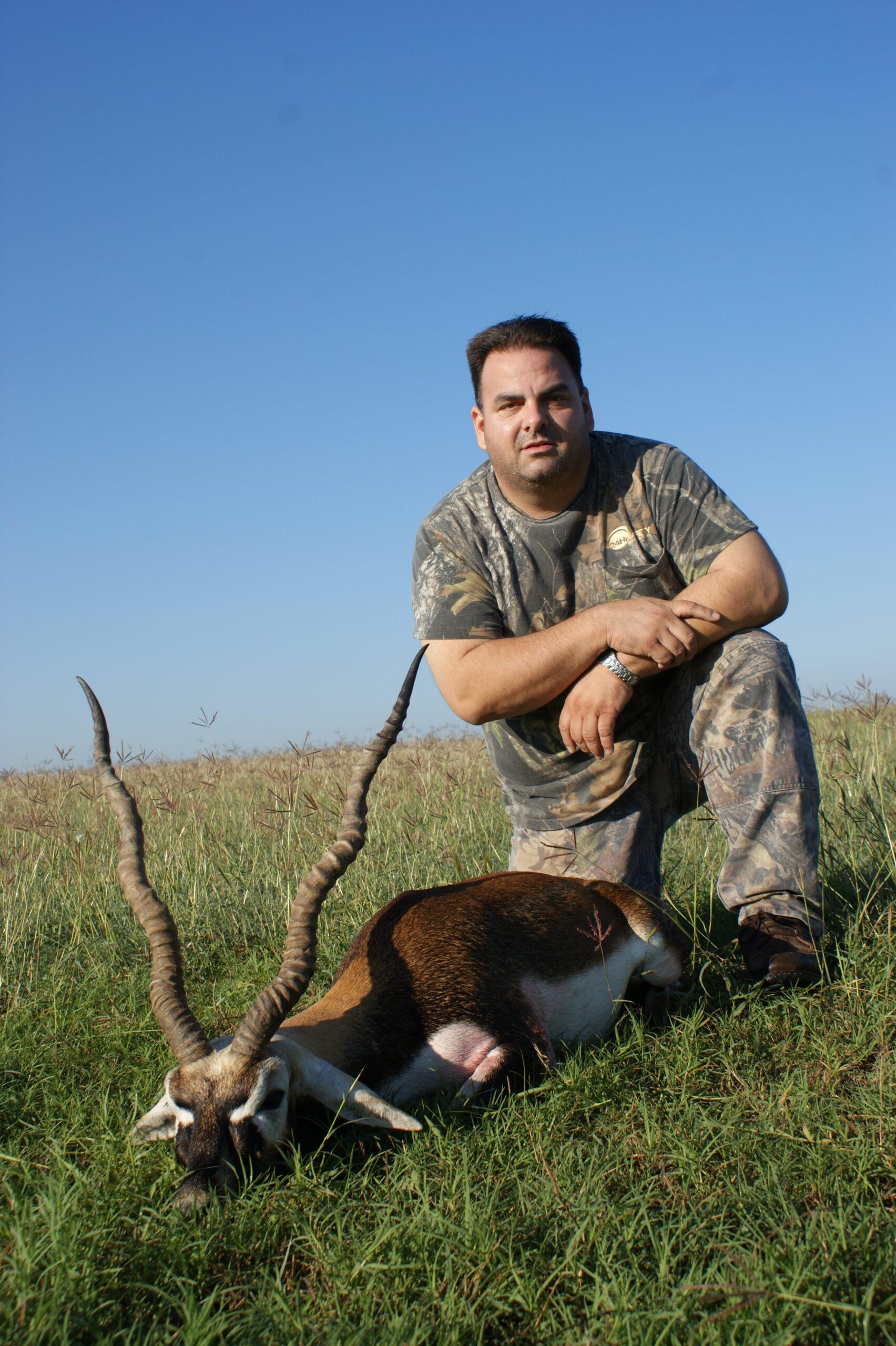 Trophy Black Buck Hunting