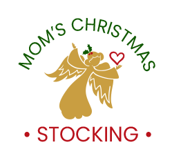 Mom's Christmas Stocking logo header