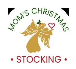 Mom's Christmas Stocking logo header
