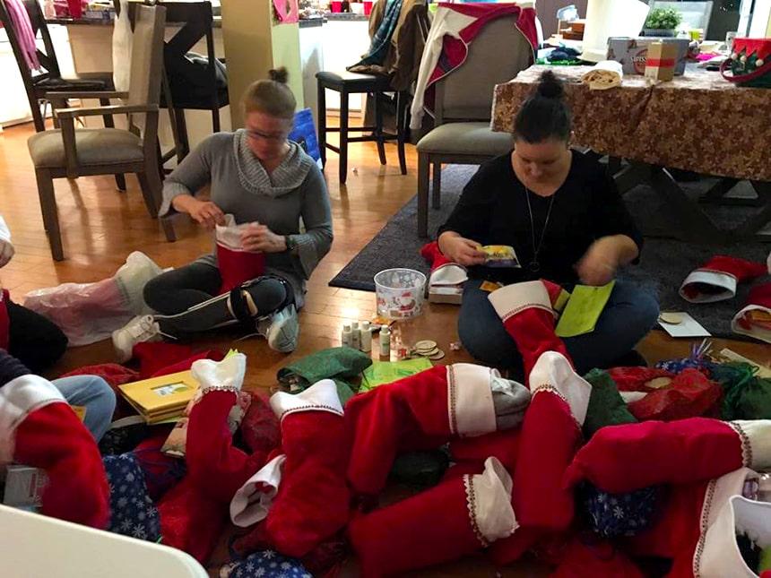 stocking christmas stockings