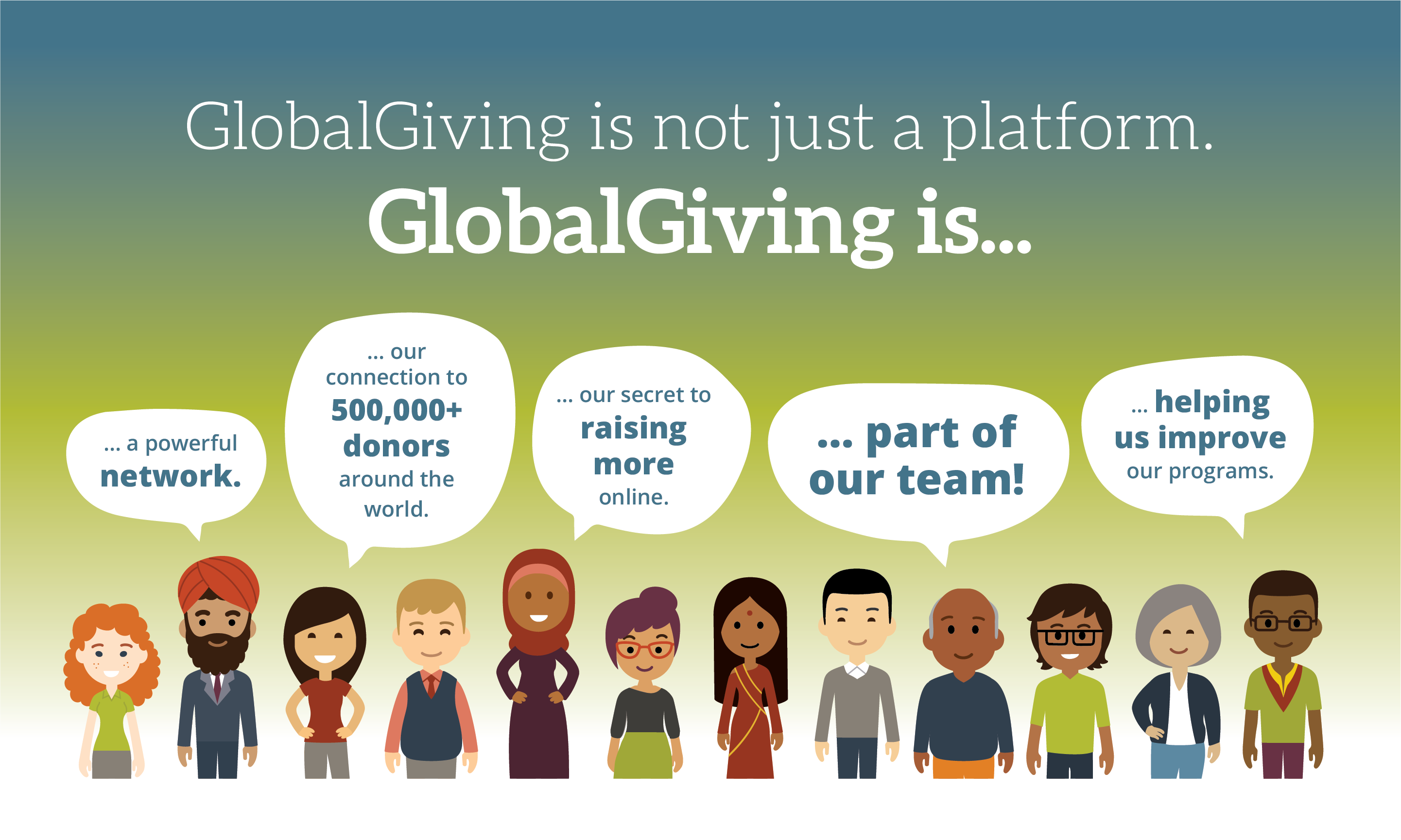 GlobalGiving Reduces Fee to As Low As 5%