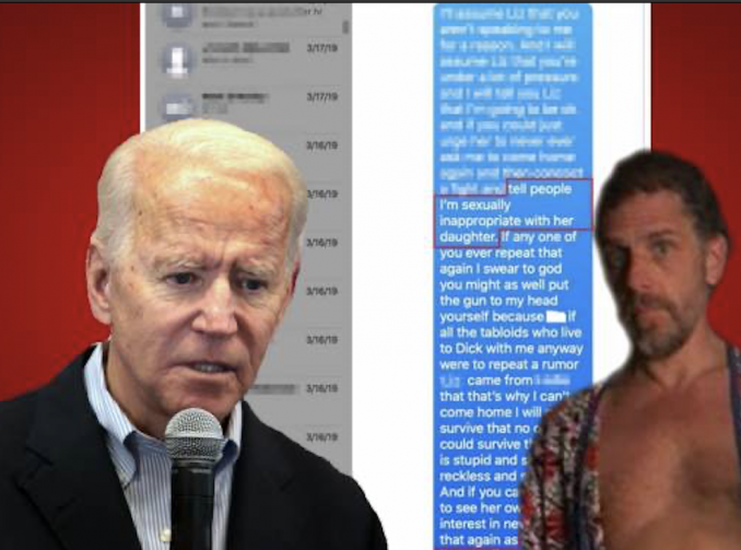 NEW Hunter Biden Pics of Himself Half Naked and Exposed