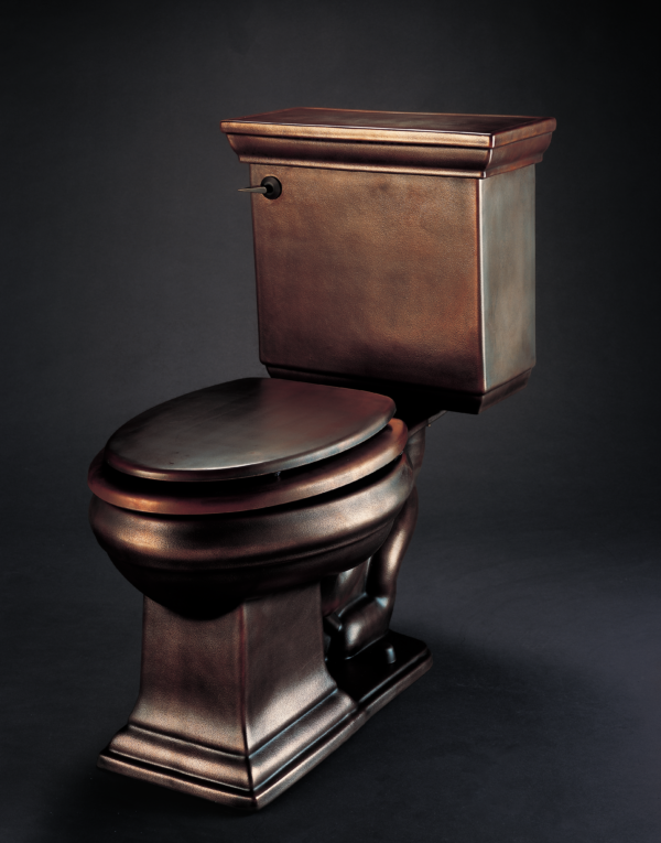 With 100% nano cooper this Copper toilet elongated is available for you.