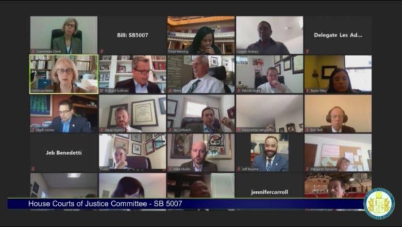 Va House Committee begins advancing Senate criminal justice reform legislation