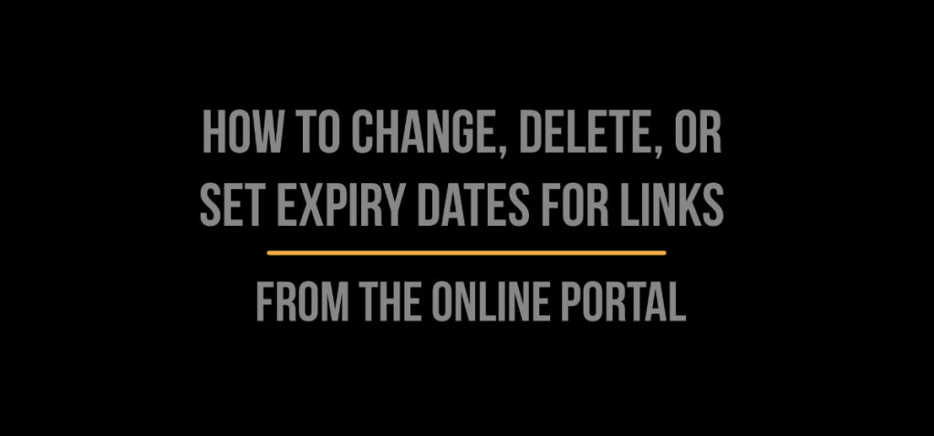 Manage Links