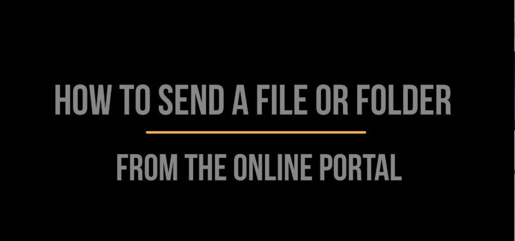 Send Files & Folders