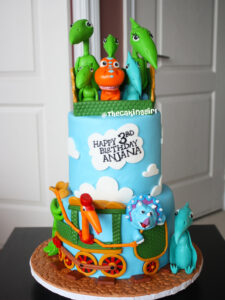 dinosaur train birthday cake for kids