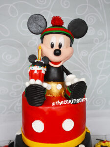 best Mickey Mouse Cake topper figurine tutorial