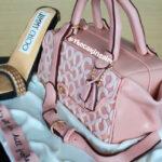 coach purse jimmy choo heels birthday cake