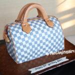 louis vuitton speedy purse cake fondant birthday cake