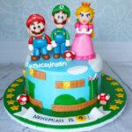 cute super mario birthday cake for boy