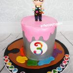 cutest artist painting cake