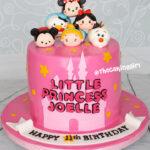 best tsum tsum castle cake