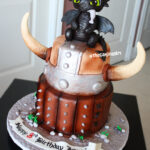 best toothless how to train a dragon cake
