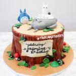 totoro birthday cake for kids