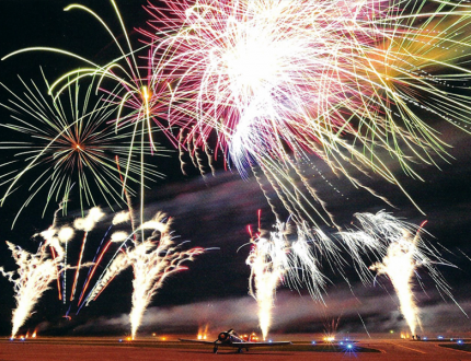Hartzell Propeller 100th Anniversary Fireworks Rendering
