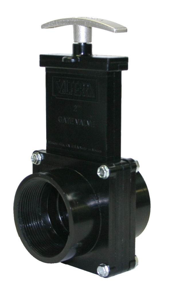 """2"""" Valve FPT x FPT, Plastic Paddle & Metal Handle, ABS"""
