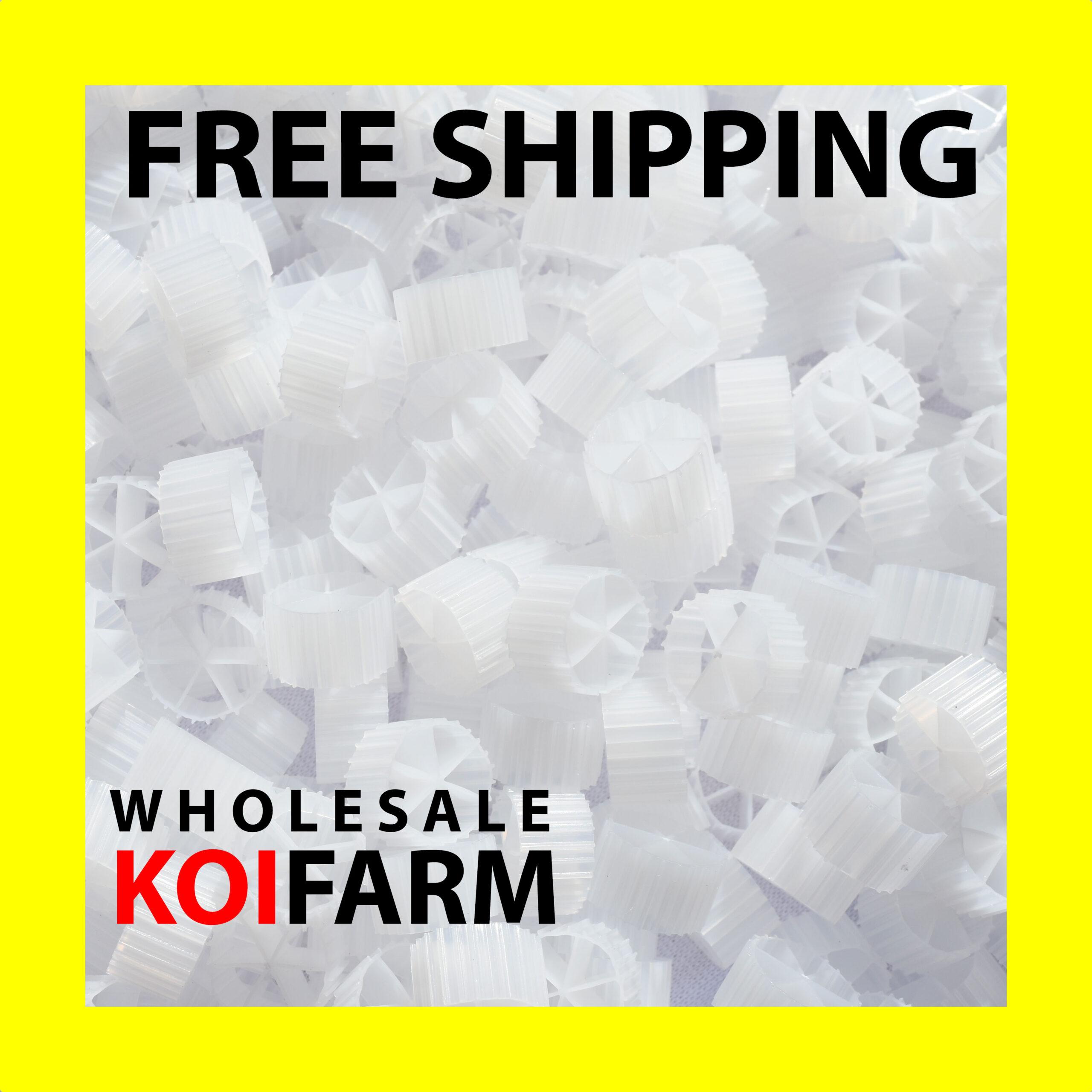 6 chamber bio filtration media for koi ponds