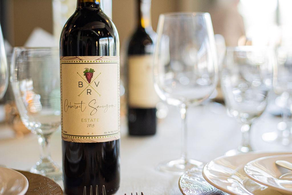 BackRoad Vines Bottle of wine