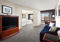 Marriott San Diego Double/Double living area.