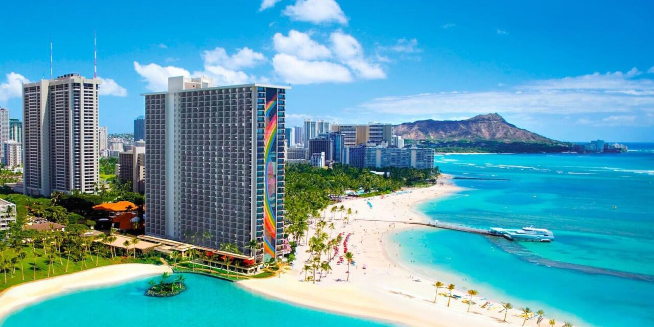 Hilton Grand Vacations Club at Hilton Hawaiian Village Lagoon Tower Site Maps