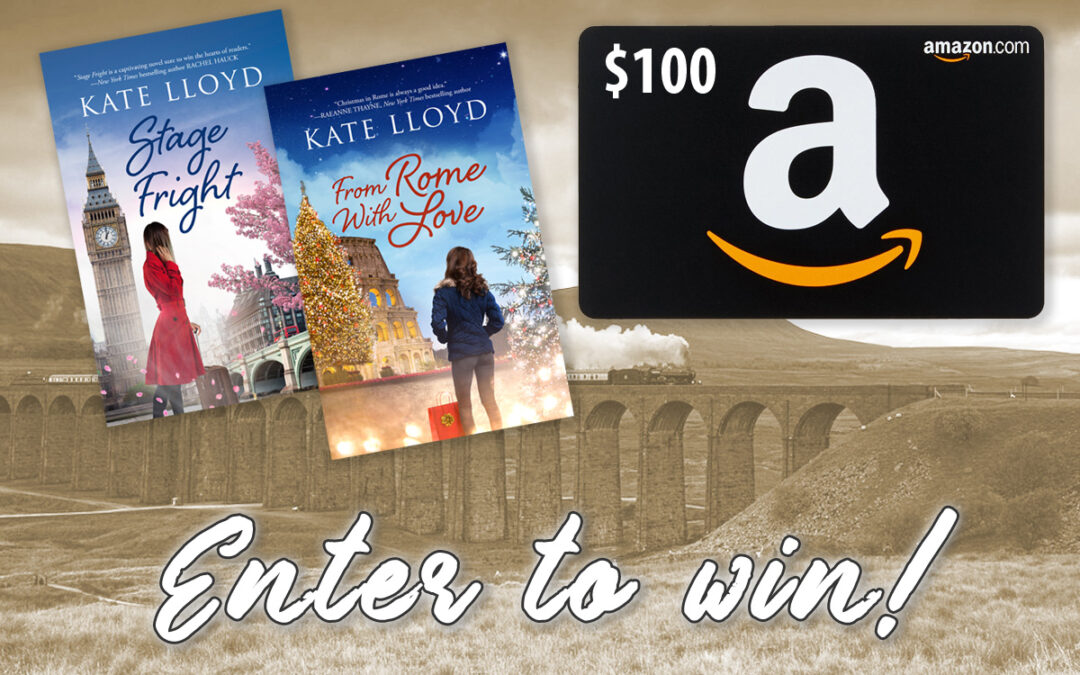 Enter Kate Lloyd's giveaway