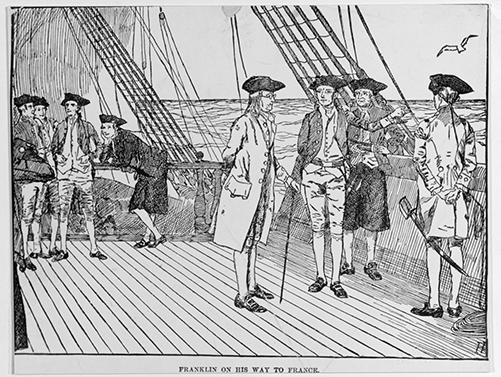 Ben Franklin Voyage 1777