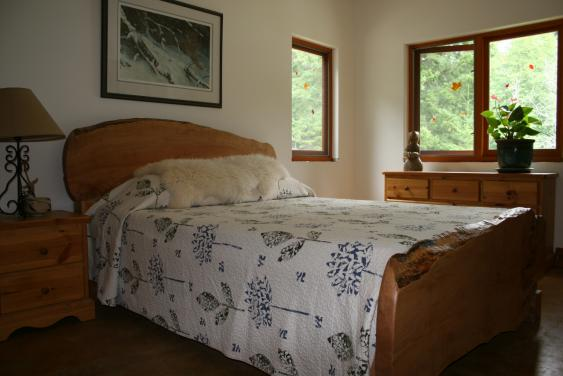bedroom Great Bear Chalet accommodations