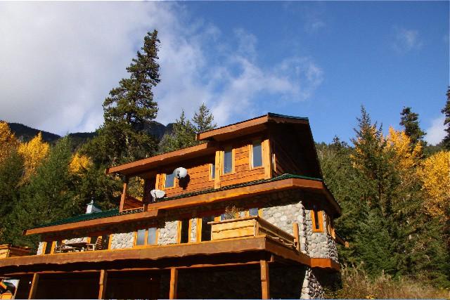 Great Bear Chalet accommodations wilderness adventure