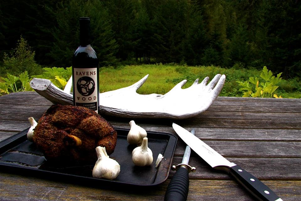 wilderness dining Bella Coola accommodations