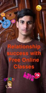 picture of Ahmad from Pakistan words say, Relationship success with Free online classes