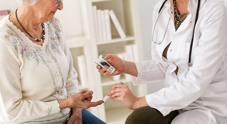 Senior Diabetic care, Ability Nursing