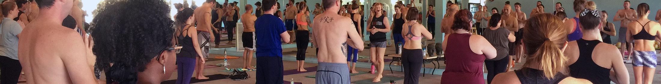 New Yoga Students