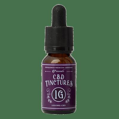 Experience Premium Cannabis 1G CBD tincture