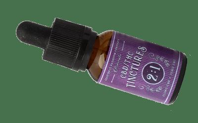 Experience Premium Cannabis 2:1 THC CBD tincture