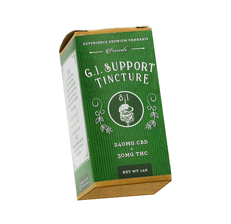 GI support tincture by Experience Premium Cannabis