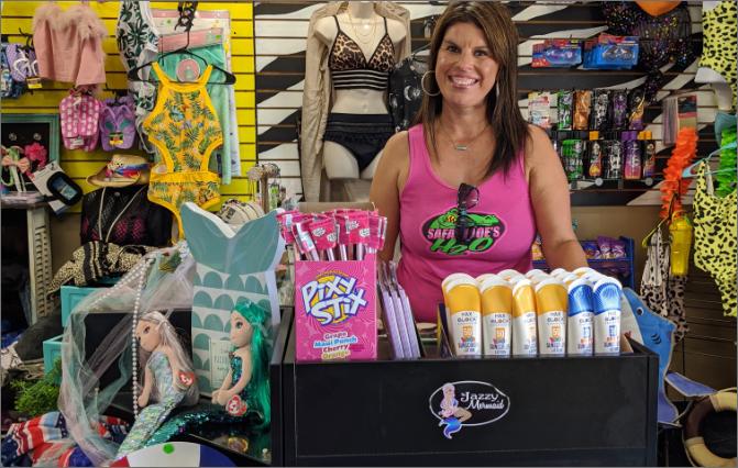 Safari Joe's H2O Shopping Things to Do Jazzy Mermaid Boutique