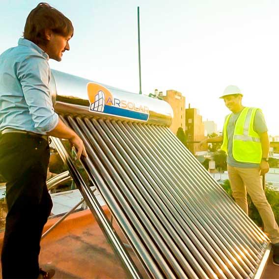 termotanques solares en argentina - Arsolar, especialistas en energía solar
